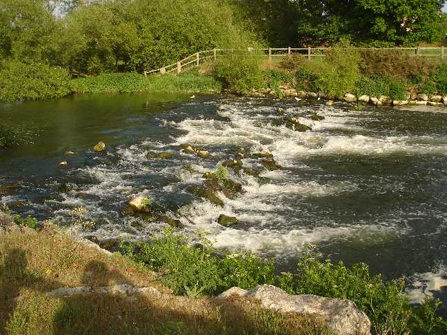 Rapids on River Stour