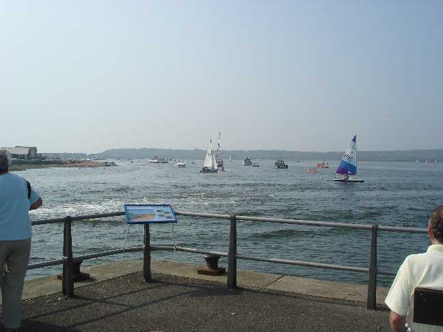The harbourside of the Run